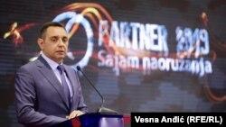 """Aleksandar Vulin na ovogodišnjem sajmu """"Partner 2019"""""""