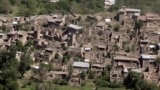 FILE: A photograph taken from a Pakistani army helicopter shows empty houses whose roofs have been removed by the army during a military operation are seen in the South Waziristan tribal district.