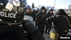 Протести во Актау, главен град на регионот Мангистау во југозападен Казахстан.