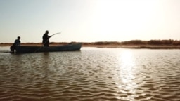 "Kazakhstan - Aral Sea area - Karashalan village - Fishermen fishing in the North Aral - documentary ""The Old Mand and The Sea"""