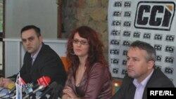 Sa prezentacije Centra civilnih inicijativa, Foto: Mido Poturović