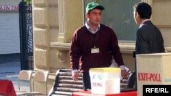 Exit-poll, Bakı, 15 oktyabr 2008