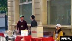 2008-ci il prezident seçkisində «exit-poll»