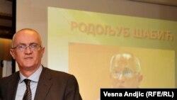 Rodoljub Šabić, povjerenik za informacije od javnog značaja u Srbiji