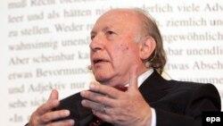 Венгерский писатель Имре Кертес. Май 2007 года