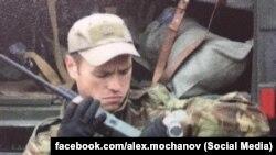 Максим Шаповал, командир одного з загонів спецпризначення української розвідки, в зоні бойових дій на Донбасі