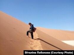 Чырвоныя дзюны Намібіі