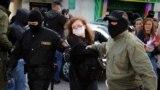 Жаночы марш у Менску. 18 верасьня. Ілюстрацыйнае фота.