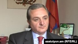Заместитель министра иностранных дел Армении Зограб Мнацаканян