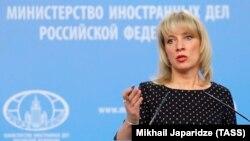 Russiýanyň daşary işler ministrliginiň sözçüsi Mariýa Zaharowa