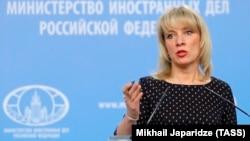 Мария Захарова, Ресей Сыртқы істер министрлігінің баспасөз хатшысы.