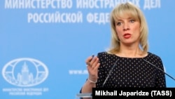 Russian Foreign Ministry Spokeswoman Maria Zakharova has accused a prominent lawmaker of sexual harassment.