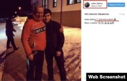 """Аслан Каитов """"с дорогим дядей"""" - главой КЧР Рашидом Темрезовым"""