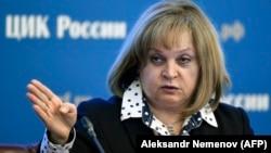Глава Центризбиркома РФ Элла Памфилова