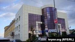 Здание Госкомрегистра Крыма на улице Крылова в Симферополе