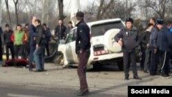 Смертельное ДТП в Бишкеке, которое совершил сотрудник посольства РФ.