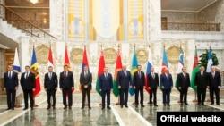 Главы правительств стран СНГ, Минск, 28 октября 2016 г.