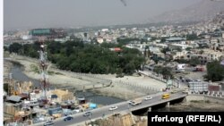 Pamje nga një pjesë e Kabulit