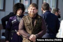 """Рамзан Кадыров, глава Чечни, одного из российских дотационных """"лидеров""""."""