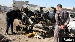 Бағдадта болған жарылыстан соң. Көрнекі сурет.