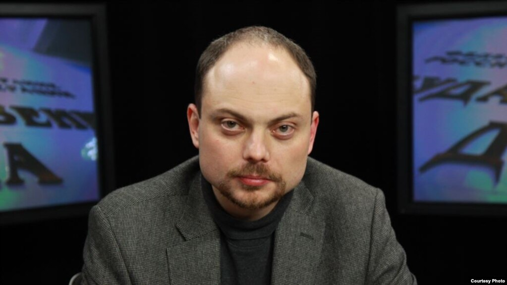 Vladimir Kara-Murza has been active in Russian liberal opposition parties and movements for the best part of two decades (file photo).
