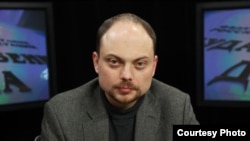 Vladimir Kara-Murza has been active in Russian liberal opposition parties and movements for the best part of two decades. (file photo)