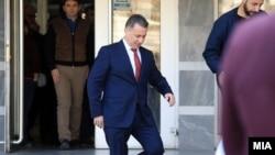 Nikola Gruevski napušta sud u Skoplju