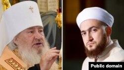 Митрополит Феофан (с) һәм Камил Сәмигуллин