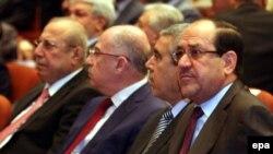 Kryeministri irakian, Nuri al-Maliki gjatë një prej seancave parlamentare