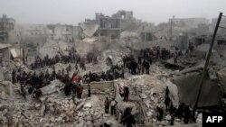 Aleppo. 19-njy fewral, 2013 ý.