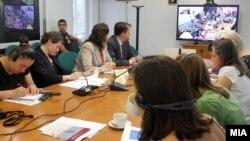 Презентација на редовниот Економски извештај на Светска банка за Југоисточна Европа.