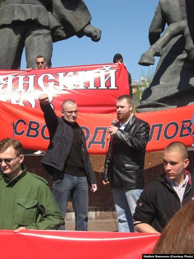 Владимир Басманов и Дмитрий Демушкин