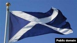 Şotlandiya bayrağı