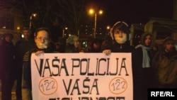 Sa protesta u Tuzli: Foto: Maja Nikolić.