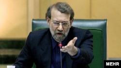 انتخاب علی لاریجانی به سمت ریاست مجلس مخالفی نداشت.(عکس: مهر)