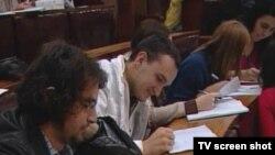 Студенты университета в Сараево, наверное, не чужды поэзии