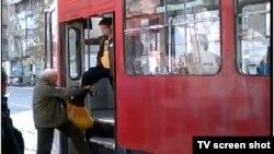 Zaposlenik udara stariju osobu, Beograd