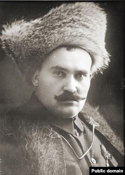 Белогвардейский казачий атаман Григорий Семенов (1920)