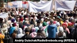 Митинг против законопроектов о религиозных организациях, Киев, 18 мая 2017 года