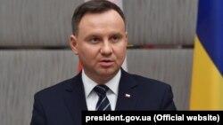 Анджей Дуда, Польша президенті.