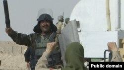 یکی از حملات نیروهای عراقی به یکی از اعضای سازمان مجاهدین خلق.