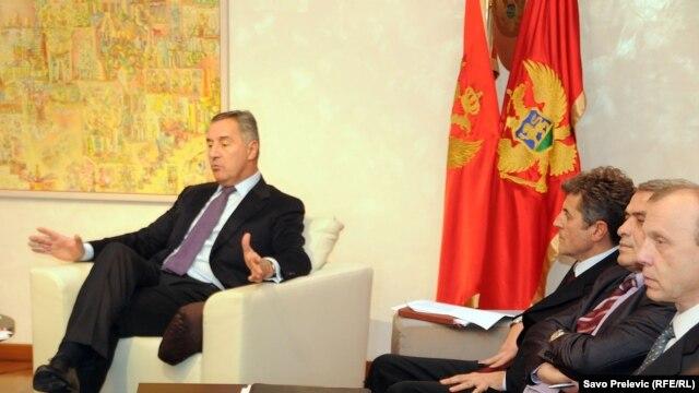 Premijer Milo Đukanović sa predstavnicima sindikata