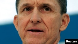Former U.S. national security adviser Michael Flynn
