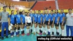 Женская национальная сборная Кыргызстана по волейболу.