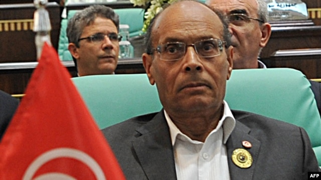 Tunisian President Moncef Marzouki denounced the attack in Libya as a 'terrorist act.'