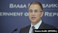 Ministri i Brendshëm serb, Nebojsha Stefanoviq.