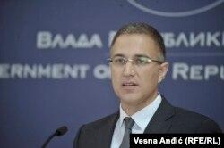 نبویسا استفانوویچ وزیر کشور صربستان