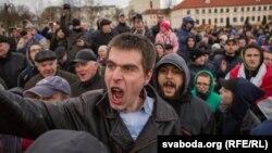 Марш недармаедаў у Горадні. Выніковы фотарэпартаж
