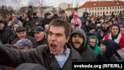 «Марш недармаедаў» у Горадні 15 сакавіка