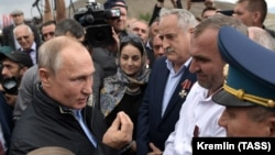 Владимир Путин на встрече с жителями Ботлиха, 12 сентября 2019 г.